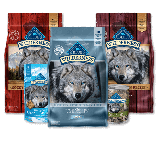 blue buffalo wilderness pet foods for dogs and cats