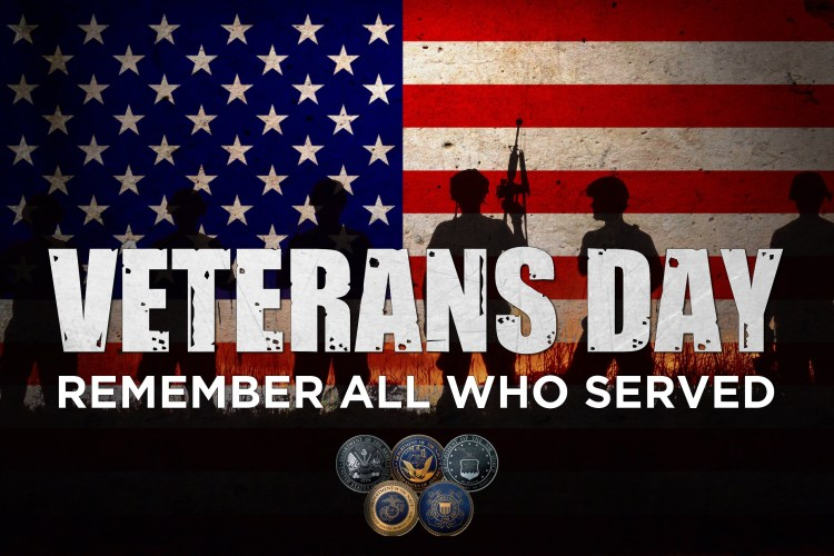 Thank you to all our Veteran's for the sacrifices you made for our country!